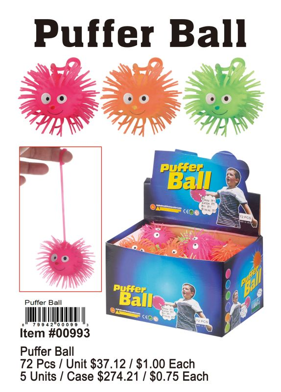 Puffer Ball - 72 Pieces Unit