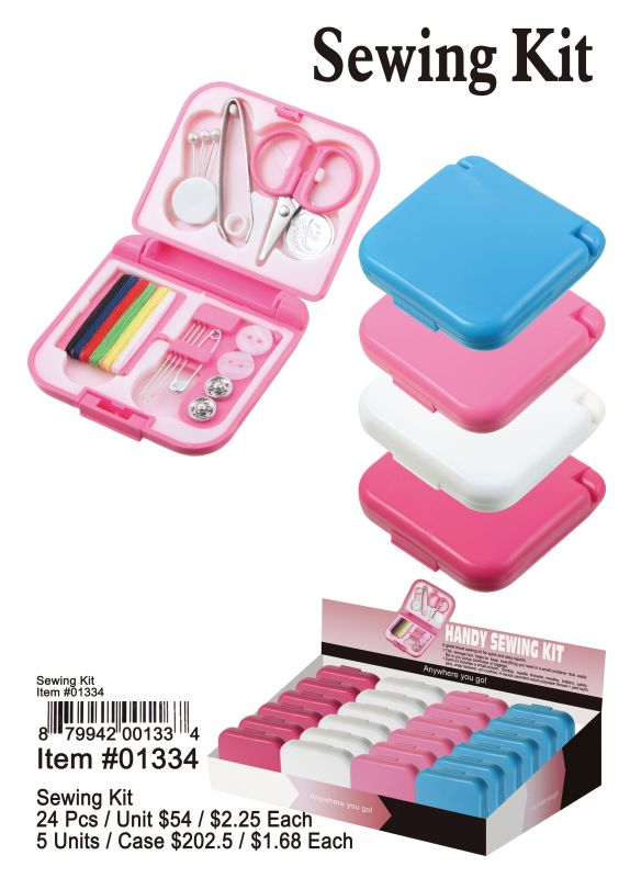 Sewing Kit - 24 Pieces Unit