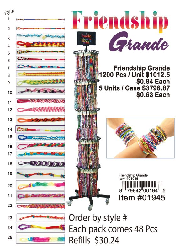 Friendship Grande - 1200 Pieces Unit