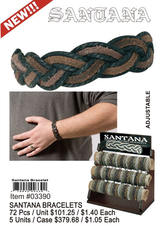 Santana Bracelets - 72 Pieces Unit