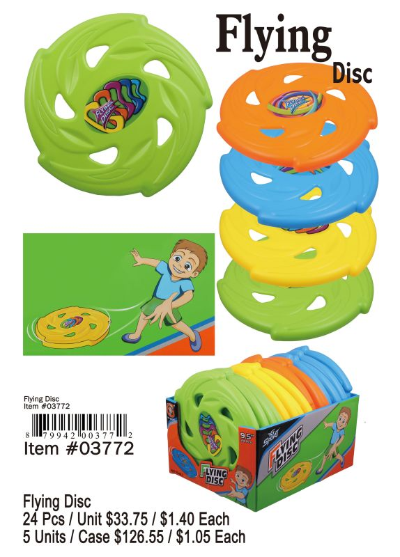 Flying Disc - 24 Pieces Unit