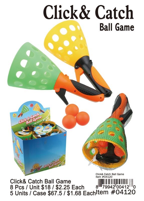 Click&Catch Ball Game - 8 Pieces Unit