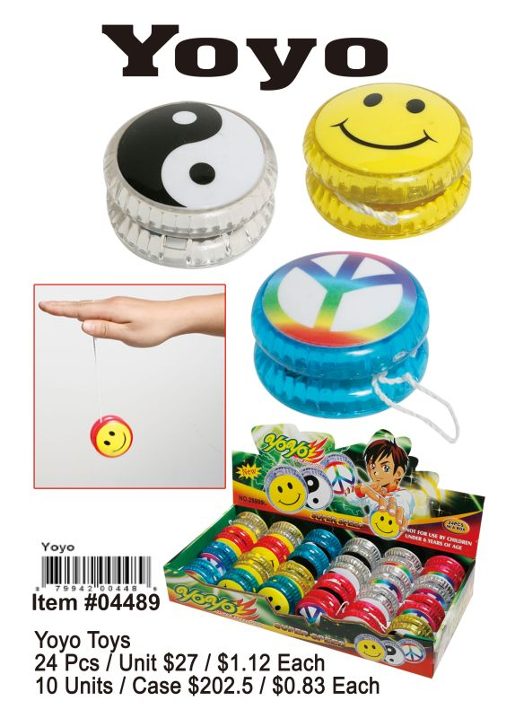 Yoyo Toys - 24 Pieces Unit