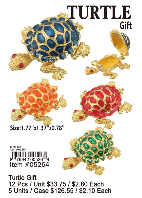 Turtle Gift - 12 Pieces Unit