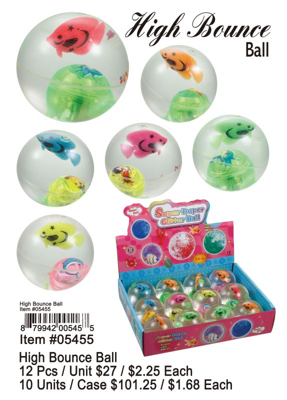 High Bounce Ball - 12 Pieces Unit