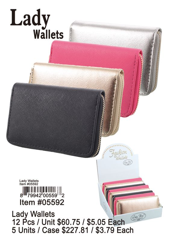 Lady Wallets - 12 Pieces Unit