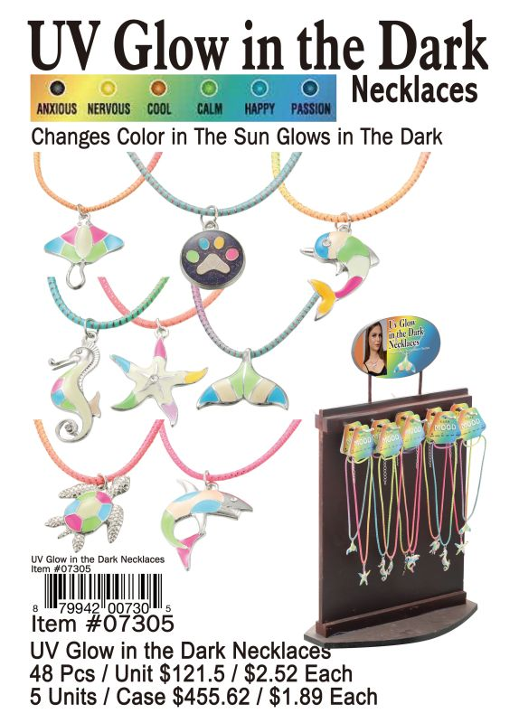 UV Glow in the Dark Necklaces Wholesale