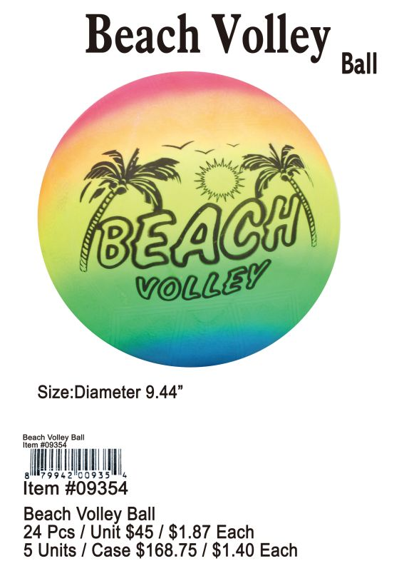 Beach Volley Ball - 24 Pieces Unit