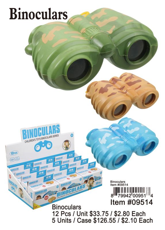 Binoculars - 12 Pieces Unit