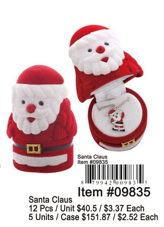 Santa Claus - 12 Pieces Unit