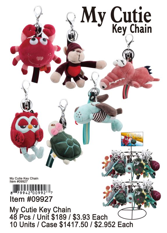 My Cuties Key Chain - 48 Pieces Unit