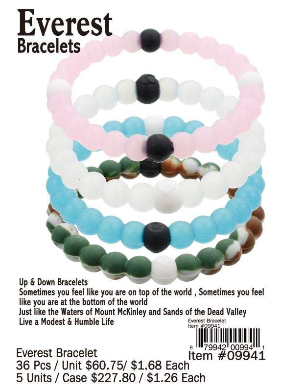 Everest Bracelets - 36 Pieces Unit