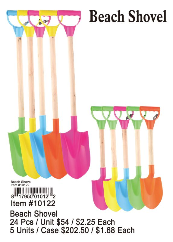 Beach Shovel - 24 Pieces Unit