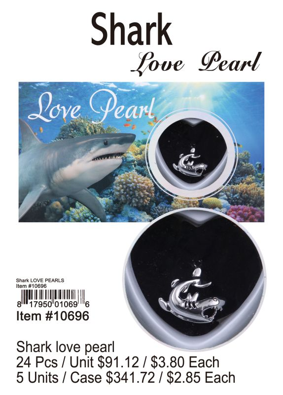 Shark Love Pearl - 24 Pieces Unit