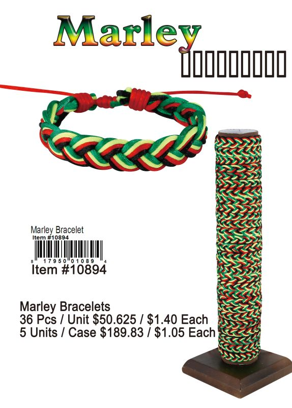 Marley Bracelets - 36 Pieces Unit