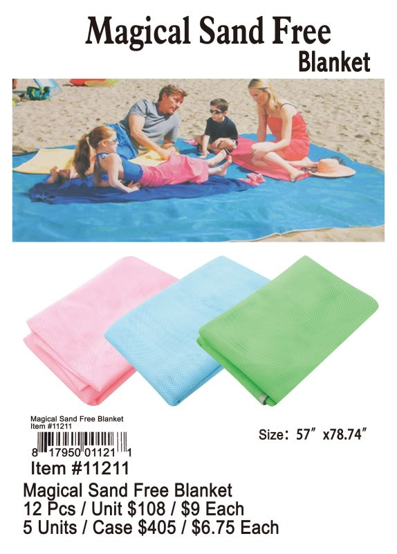 Magical Sand Free Blanket - 12 Pieces Unit