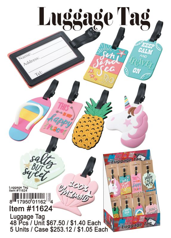 Luggage Tag - 48 Pieces Unit