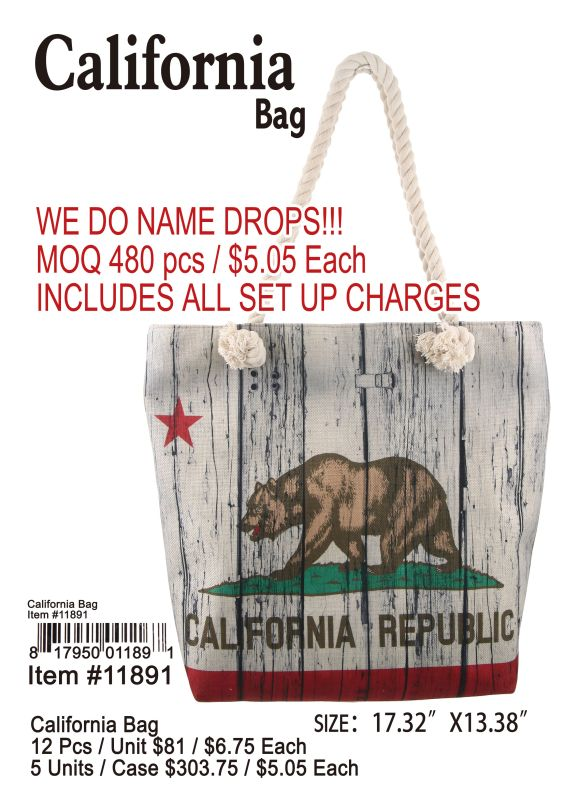California Bag - 12 Pieces Unit