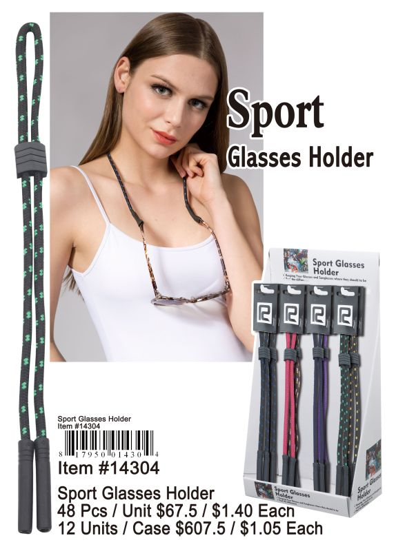 Sport Glasses Holder - 48 Pieces Unit
