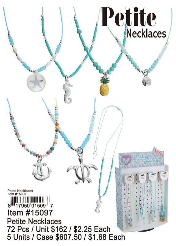 Petite Necklaces - 72 Pieces Unit