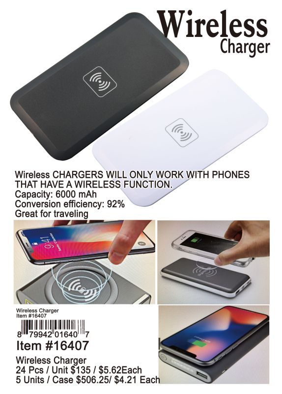 Wireless Charger - 24 Pieces Unit
