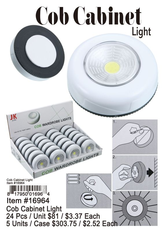 Cob Cabinet Light - 24 Pieces Unit