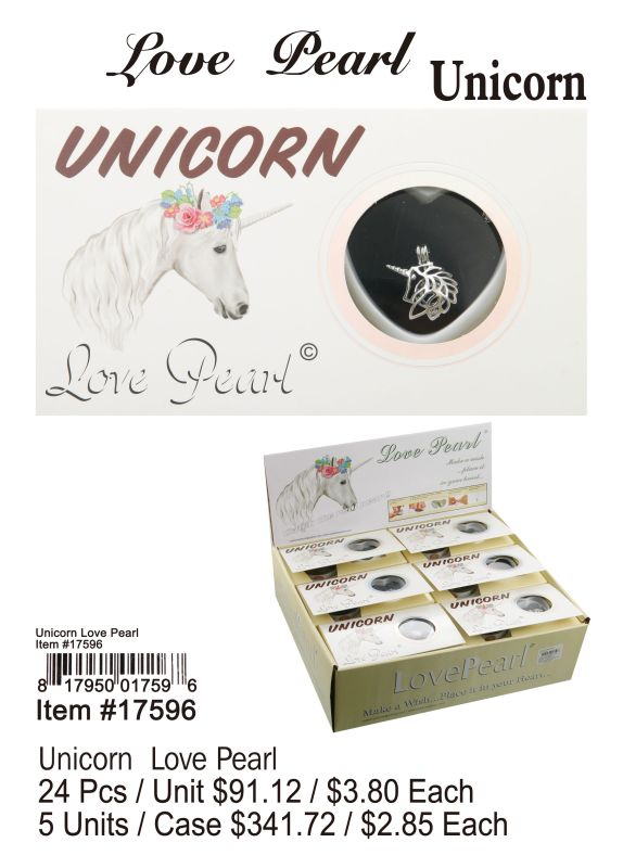 Unicorn Love Pearl - 24 Pieces Unit