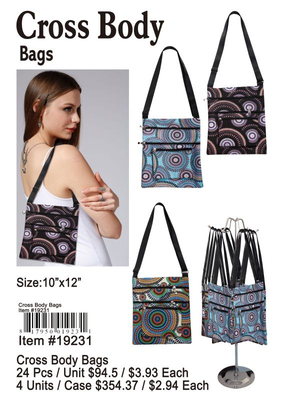 Cross Body Bags - 24 Pieces Unit