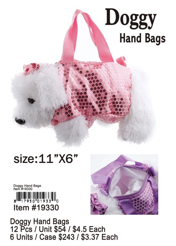 Doggy Hand Bags - 12 Pieces Unit