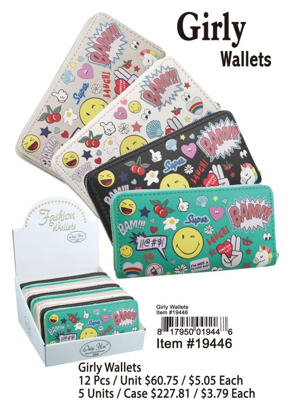Grily Wallets - 12 Pieces Unit