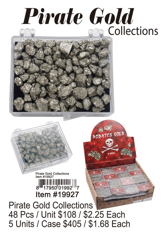 Pirate Gold Collections - 48 Pieces Unit