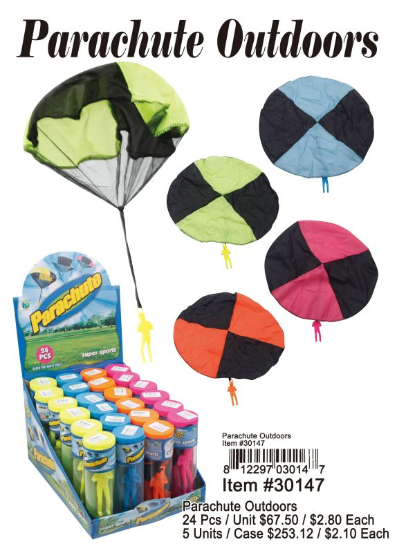 Parachute Outdoors - 24 Pieces Unit