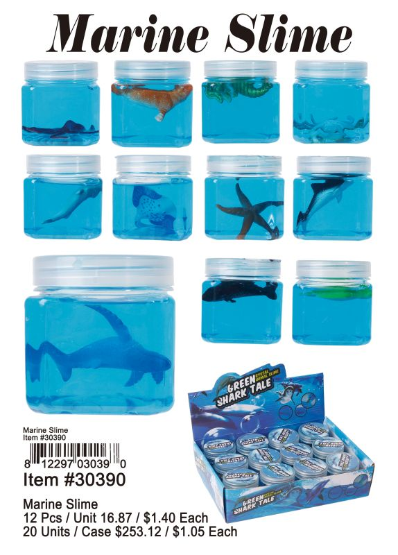 Marine Slime - 12 Pieces Unit