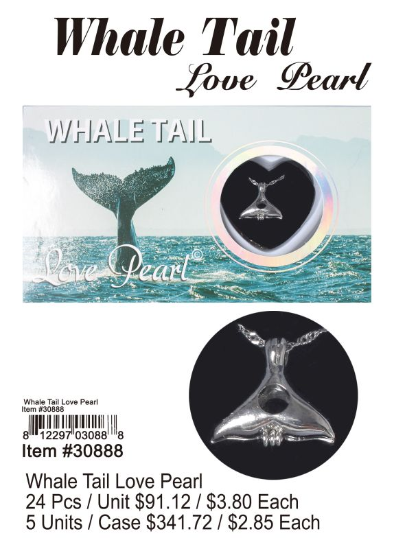 Whale Tail Love Pearl - 24 Pieces Unit