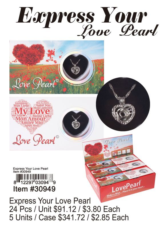 Express Your Love Pearl - 24 Pieces Unit