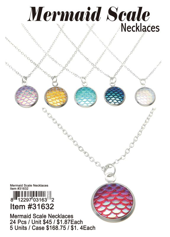 Mermaid Scale Necklaces Wholesale