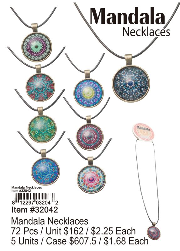 Mandala Necklaces Wholesale