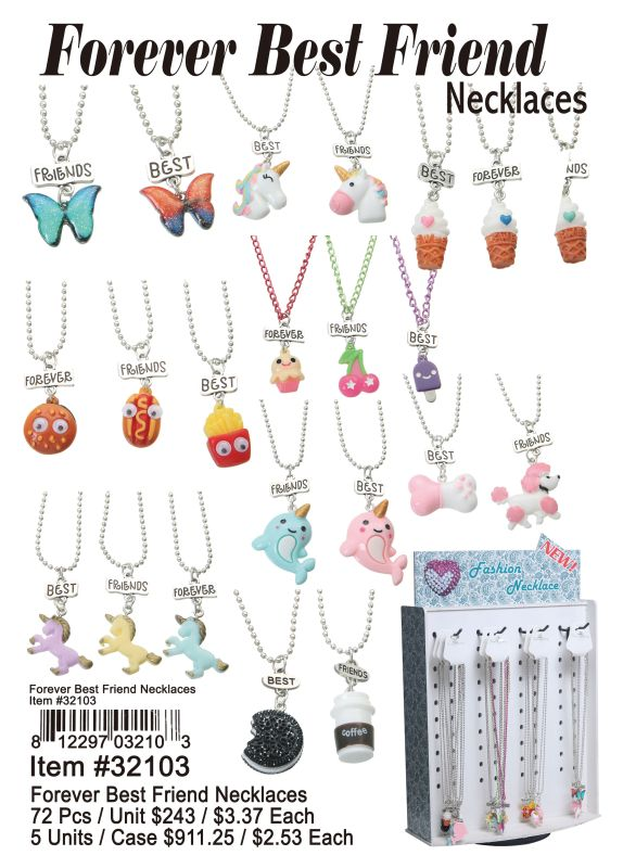 Forever Best Friend Necklaces Wholesale