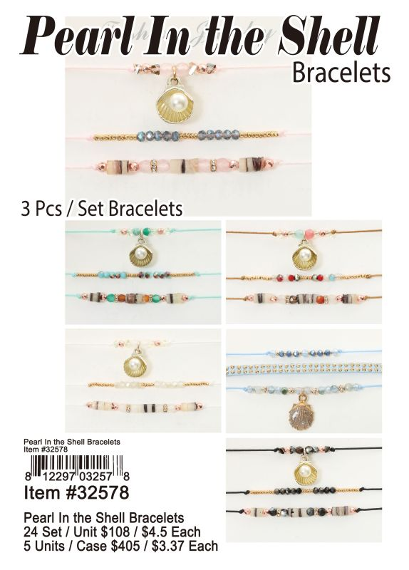 Pearl In the Shell Bracelets Wholesale