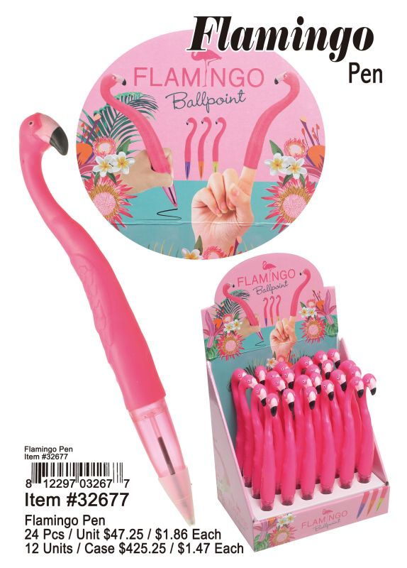 Flamingo Pen Wholesale