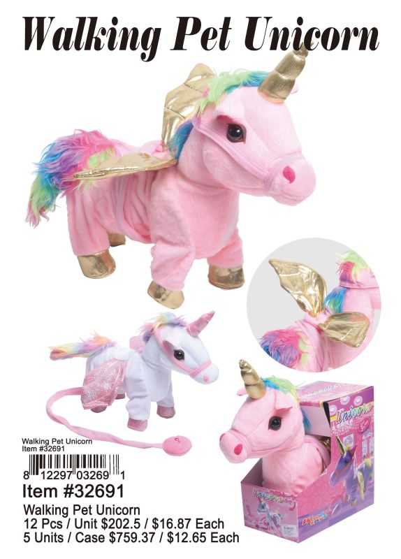 Walking Pet Unicorn Wholesale