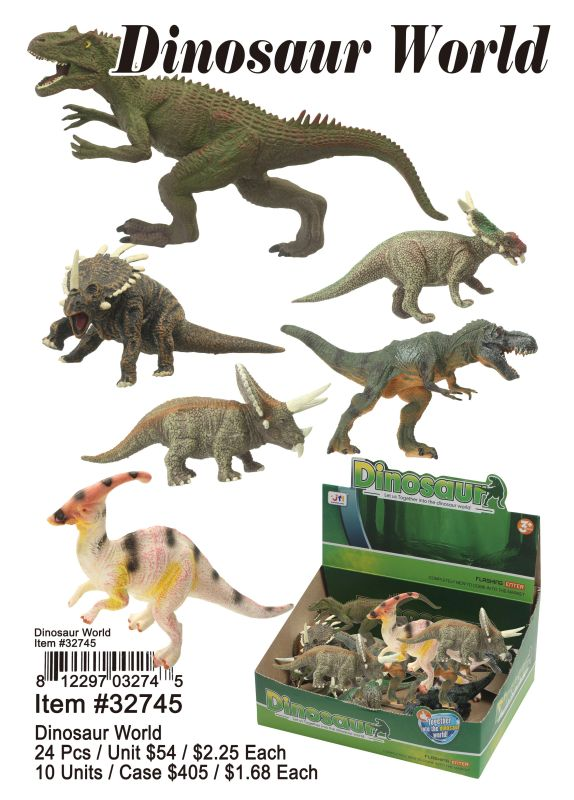Dinosaur World - 24 Pieces Unit