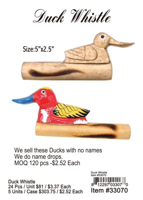 Duck Whistle Wholesale