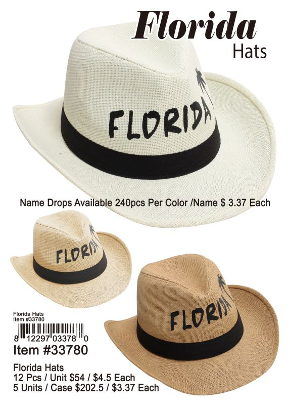 Florida Hats Wholesale