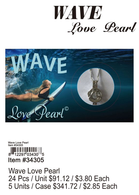 Wave Love Pearl - 24 Pieces Unit