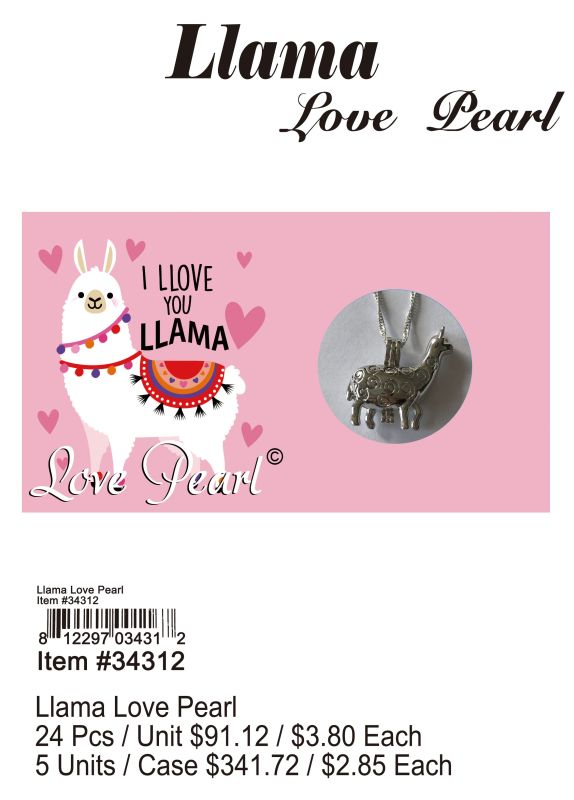 Llama Love Pearl - 24 Pieces Unit