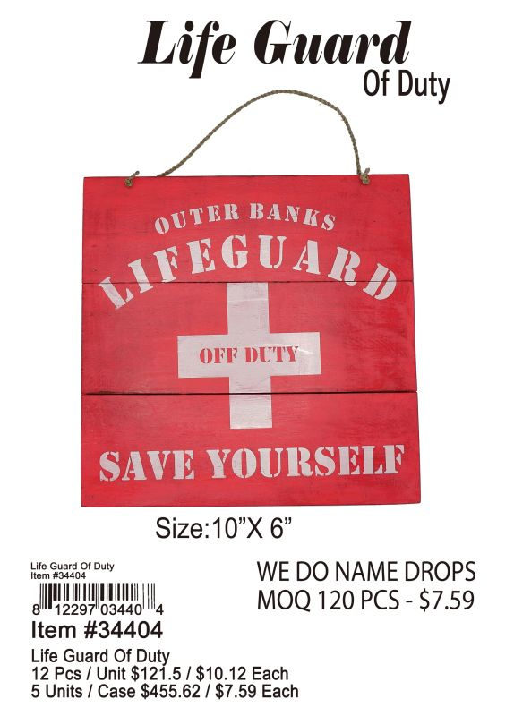 Life Guard Of Duty - 12 Pieces Unit