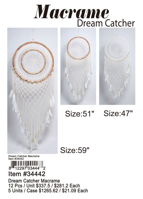 Dream Catcher Macrame Wholesale