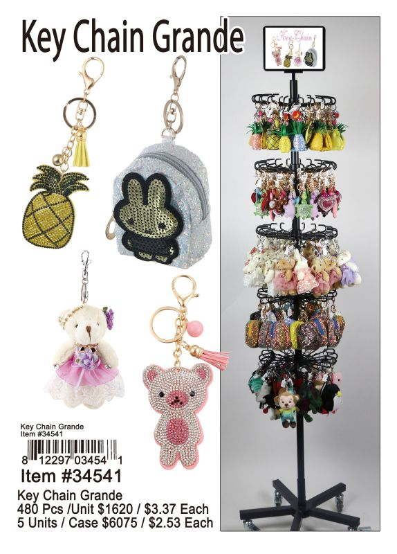 Key Chain Grande - 480 Pieces Unit