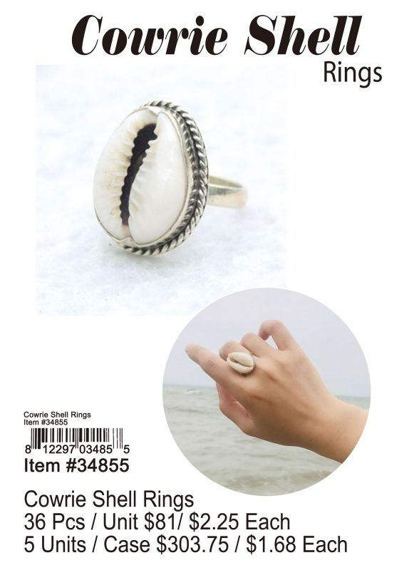 Cowrie Shell Rings Wholesale